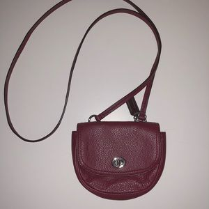 *WORN ONCE* Coach Red Crossbody